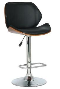 SALE- BRAND New - Designer, Bar and Counter Stools, in Bentwood & Stainless Steel