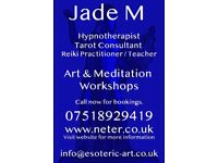 Tarot Readings and Reiki with Jade Melany at Visage Therapy Centre in Cockermouth