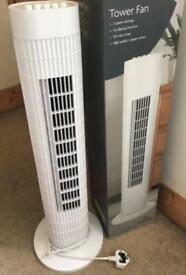 Tower Fan White