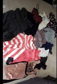 Ladies dress and long top bundle Size S/6-8