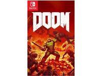Doom for Nintendo Switch Brand New Sealed