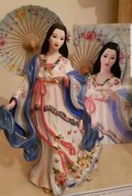 Danbury mint summer blossom figurine