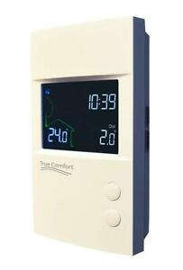 True Comfort PS120/240WF WiFi Programmable Floor Heating Thermostat 120V /240V