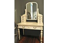 Wooden period style dressing table.