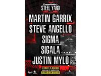 Steel yard tickets 25th November