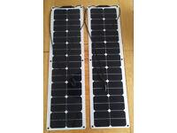 BLACK FRIDAY DEAL 100W = 2X50W FLEXIBLE SOLAR PANELS TITAN ENERGY UK