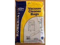 Rowenta vacuum cleaner bags