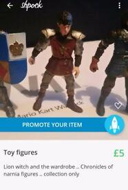 Toy figures (4)