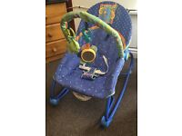FISHER PRICE baby bouncer with vibrations