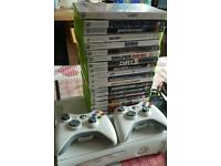 Xbox 360 with 19 games