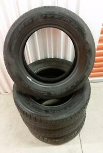 (E60) 4 Pneus Ete - 4 Summer Tires 195-65-15 Goodyear