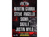 2 Martin Garrix Steel Yard Tickets