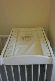 Baby changing board and changing mat
