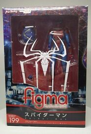 Figma Amazing Spider-Man Figure Official & Complete MARVEL RARE CHRISTMAS PRESENT