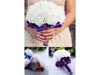 BRIDAL FLOWERS,WILL REMOVE AS WHEN SOLD