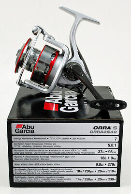 ABU GARCIA ORRA S 5.8:1 GEAR RATIO SPINNING REEL #ORRA2S40 1324548