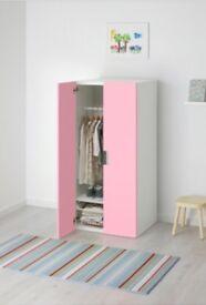 Children pink wardrobe