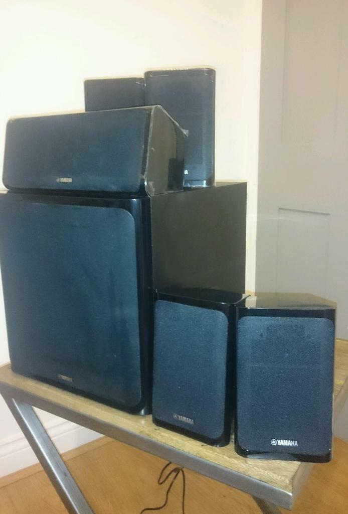 yamaha speakers ns p40 includes rear stands in romford