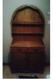 Solid wood french dresser. Very good condition. £150 ono. Very expensive as new.