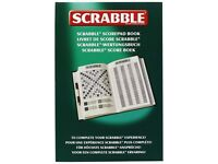 Scrabble Score Pad book deluxe - Brand NEW