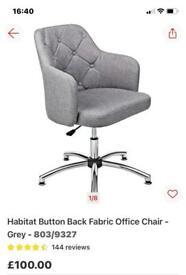 Grey Office Swivel Chair.