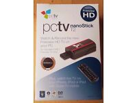 PCTV Systems DVB-T2 290e nanoStick HD TV Tuner - Watch, Pause & Record Digital Freeview HD & SD TV