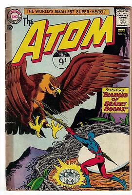 DC Comic ATOM Silver age  #5 G/VG- superman 1965