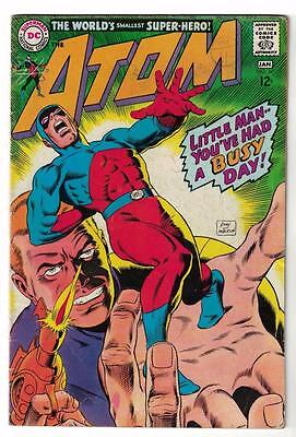 DC Comic ATOM Silver age  #34 VG+  superman 1967
