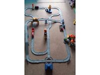 Chuggington interactive train track, playsets and chuggers