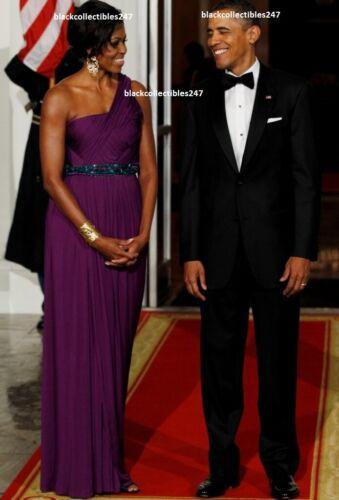 PRESIDENT BARACK OBAMA Photo 5x7 Michelle Obama White House State Dinner USA