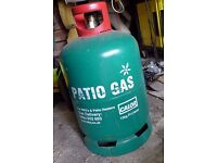FULL 13kg propane patio gas cylinder