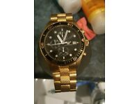 Gold Emporio Armani watch!!! its very nice got a bargain for you