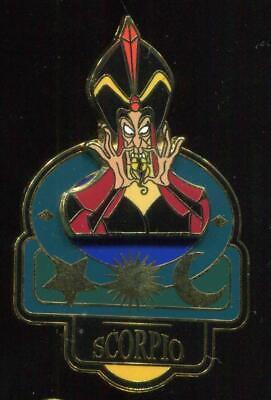 Signs of the Zodiac Scorpio November Jafar Disney Pin 12312