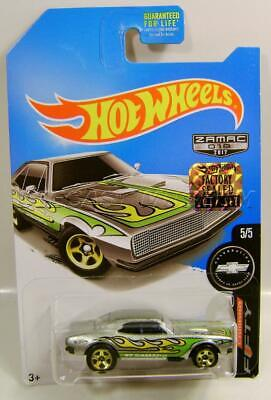 1967 '67 CHEVY CAMARO ZAMAC SERIES 018 HOT WHEELS HW DIECAST 2017 FACTORY SEALED