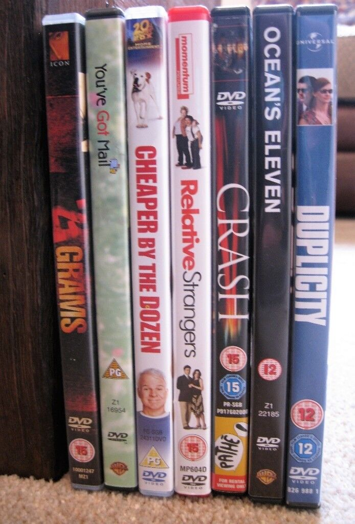 DVDs (7 movies)