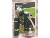 Draper 5 Piece Garden Spray Gun Starter Kit