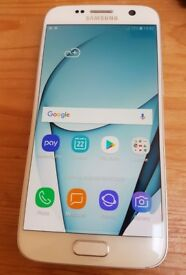 Samsung S7 32Gb white unlocked mobile +case +more - good condition, professionally CHECKED
