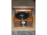 Neostar Turntable Record Player Vinyl CD Radio USB Tape Mp3 Music Centre TCD-9912C/USB