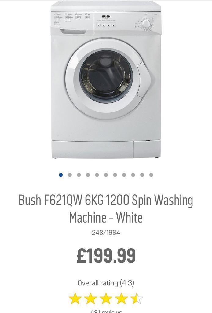 NEW BUSH WASHING MACHINE