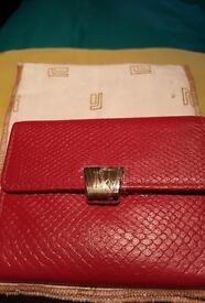 Red Jafferjees purse NWT