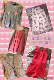 Girls clothes bundle age 2-3 years Sidcup