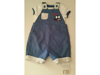Brand New Mothercare 2 Piece Set + FREE 5 T-shirts