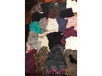 Big bundle of maternity clothes (size 12-14)
