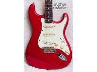 FENDER Japan '62 Vintage Reissue Stratocaster Candy Apple Red guitar - MINT! CIJ - CAN POST!