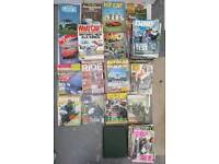 Joblot Of Car And Bike Magazines 1970-2005 Around 200 In Total