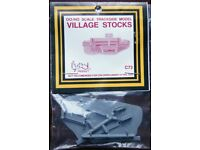 Dapol OO/HO Scale Trackside Model - Village Stocks