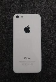 iPhone 5 c White for spares