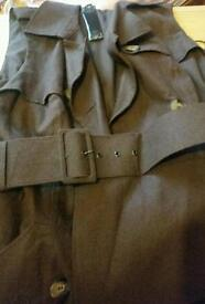 Bnwt, Very smart Dress trench in brown colour size 10
