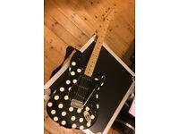 Fender Buddy Guy Stratocaster - Black Polka Dot - 1996 Rare First Year MIM Strat