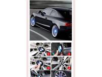 BMW LED Wheel Badge Cover Cap Emblem Light Up